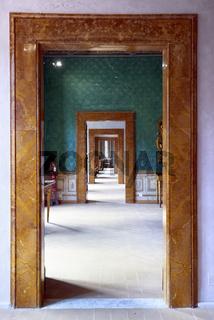 Spoleto Umbria Italy. Collicola Palace Art Gallery