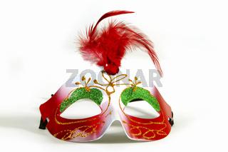Bunte Maske