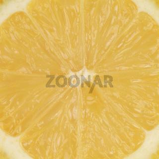 Nahaufnahme einer Zitrone