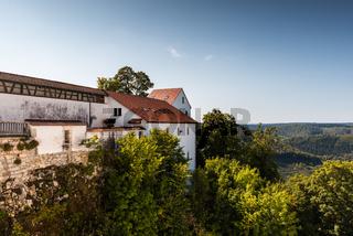 Burg Wildenstein im Donautal, Leibertingen, Landkreis Sigmaringen, Baden-Württemberg, Deutschland