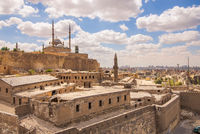 Great Mosque of Muhammad Ali, Citadel of Cairo, one of the landmarks and attractions of Cairo, Egypt