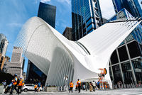 World Trade Center Transportation Hub or Oculus in New York