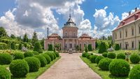 Chinese palace in the Zolochiv Castle in Ukraine