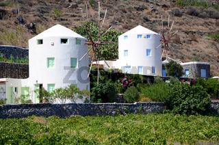 Windmühlen - Santorin - Griechenland
