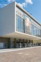 The Cinema International in the Karl-Marx-Allee in Berlin Mitte