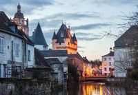 The Royal City of Loches (France).