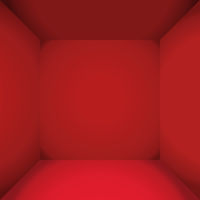 Red luxury empty space of the square box