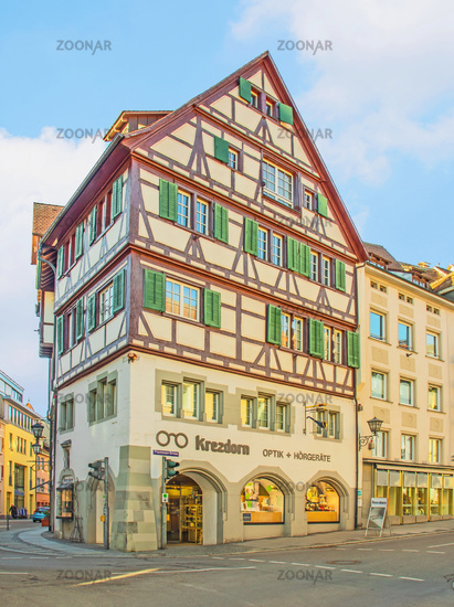 City centre, Überlingen on Lake Constance