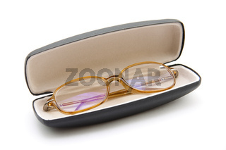 Brille in Etui