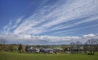 Village idyll of the Vogtland