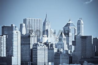 panorama of manhattan, new york