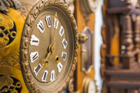 Vintage clocks - time background