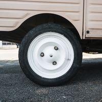 Vintage white wheel