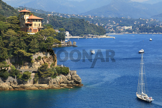 Bay of Portofino. Liguria, Italy.