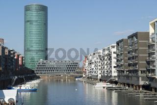 Westhafenviertel Frankfurt