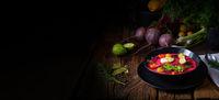 Botwinka Polish spring beetroot soup