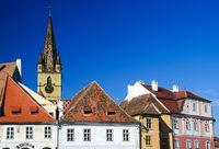sibiu historic buildings church