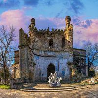 Abandoned Kuris manor in Ukraine