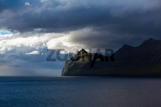 coast of the Faroe Islands