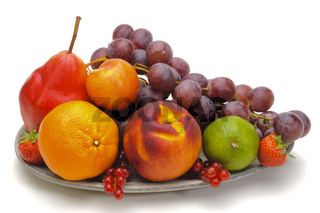 Obst Obstteller Obstschale