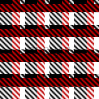 Red and black Scotland textile seamless pattern. Fabric texture check tartan plaid. Abstract geometric background for cloth, card, fabric. Monochrome repeating design. Modern squared ornament