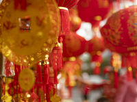 Lunar new year fair market