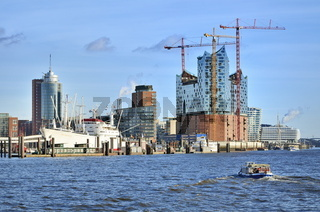 Hafencity und Elbphilharmonie, Hamburg