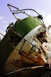 The Wreck of the German yacht kiel