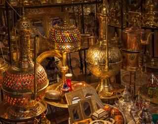 Moroccan antique shop
