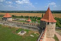 Old Turkish fortress Bender in Tighina, Transnistria, Moldova