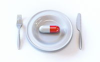 Medic capsule meal time 3D