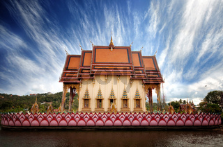 Buddhist temple, Thailand