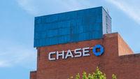 Chase Bank in Louisville - LOUISVILLE. USA - JUNE 14, 2019
