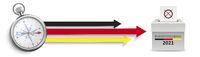 Compass 3 Arrows Vote Bundestagswahl 2021