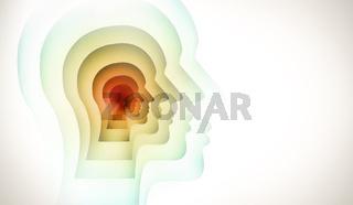 human mind conceptual image