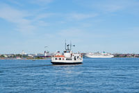 Ferry boat in Helsinki