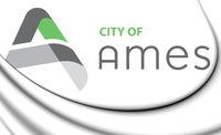 3D Emblem of Ames (Iowa state), USA. 3D Illustration.