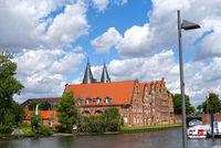 Lübeck, Salt Storage, Hansestadt, Schleswig-Holstein, Germany