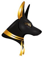 the egyptian god Anubis