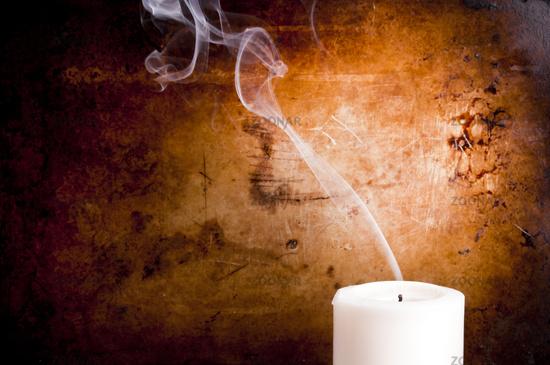 Candle Smoke Trails