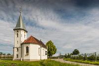 Chapel near Kressbronn on Lake Constance, Baden-Wuerttemberg, Germany