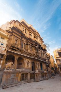 Nathmal Ki Haveli Mansion Angle