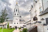 The Sviyazhsk mail monastery in Tatarstan