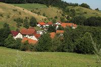 Kleiner Ort im Odenwald