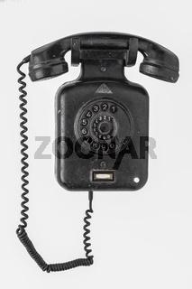 altes Telefon aus Bakelit