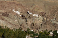 Monastery in Basgo. Indus Valley, Ladakh.