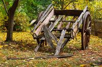 Wooden cart - Shepherds Flat