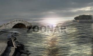 Mysterious seaway