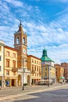 Square of the Three Martyrs in Rimini
