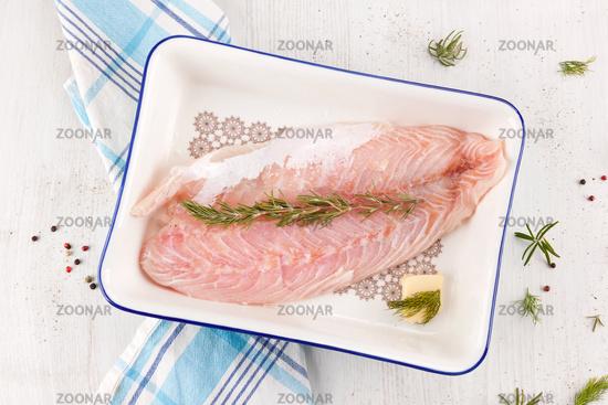 Delicious fish fillet.